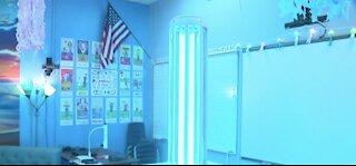 Clark County School District unveils new disinfecting UV-C machine