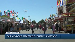 Fair Vendors Impacted By Supply Shortage