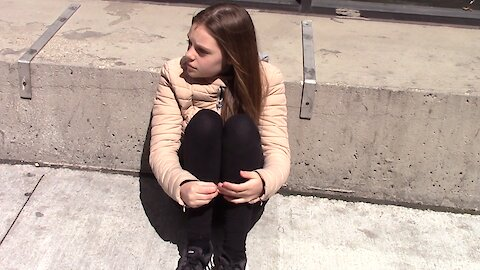 Social experiment: Would you help a depressed child?
