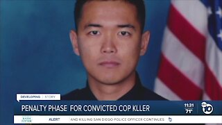 Penalty phase for man convicted of killing San Diego officer