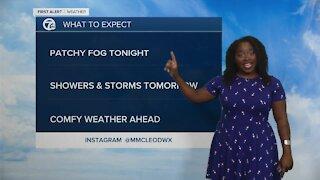7 First Alert Forecast 11 p.m. Update, Saturday, August 28