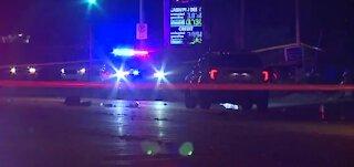 Man dies after being struck by patrol car in North Las Vegas