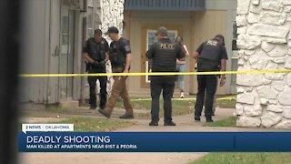 Man shot, killed at south Tulsa apartment complex