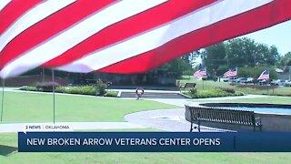 New Broken Arrow Veterans Center Opens