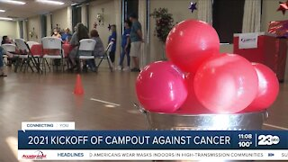 2021 Campout Against Cancer kickoff event