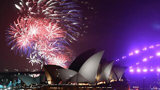 Watch New Zealand's 2021 New Year fireworks display
