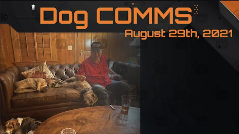 Dog COMMS -- August 29th, 2021