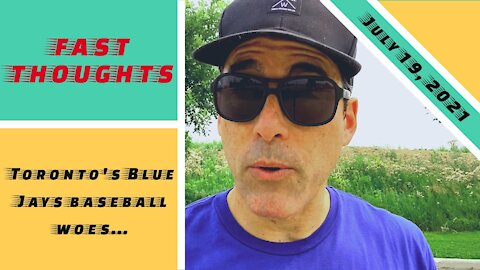 FAST THOUGHTS: The 2021 Blue Jays return to Toronto..?! WTF?! What a huge mistake!