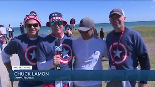 Saturday at the Ryder Cup: Team USA fans are filled with hope and optimism
