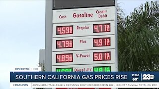Gas prices in Bakersfield rise amid global energy crisis