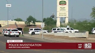 Police investigating near 95th Avenue and McDowell Road