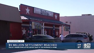 Restaurateur whose business was raided by former Sheriff Joe Arpaio gets $5M