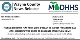 Zone 2 in Flat Rock cleared, residents who evacuated can return home