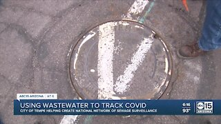 Tempe using wastewater to track COVID