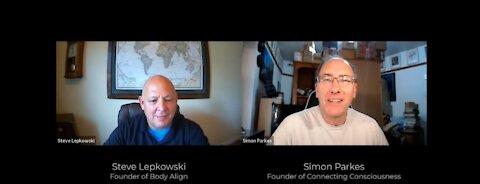 Simon Parkes talks with Steve Lepkowski about Energy Wellness & EMF Protection.