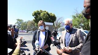 Western Cape Premier Alan Winde and Western Cape MEC Debbie Schafer