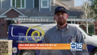 Precision Air & Plumbing says there's a HVAC equipment shortage due to COVID
