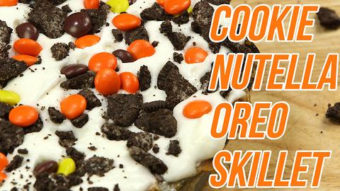 Cookie Nutella Oreo Skillet Recipe