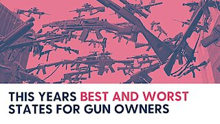 This Years Best and Worst States for Gun Owners
