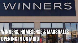 Winners, HomeSense & Marshalls Are Opening Their Doors Across Ontario Tomorrow