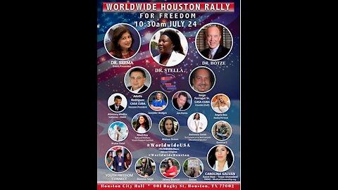 Worldwide Houston Rally for Freedom - Steven F. Hotze, M.D. Remarks