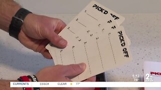 Family creates game during Covid