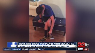 How a teenager with cerebral palsy inspired these new shoes from Nike