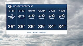 7 First Alert Forecast 5 p.m. Update, Tuesday, February 23