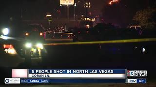 6 people shot in North Las Vegas