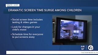 Screen time and kids during the pandemic