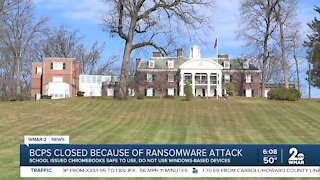 BCPS closed because of Ransomeware attack