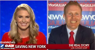 The Real Story - OAN Cuomo Corruption with Andrew Giuliani