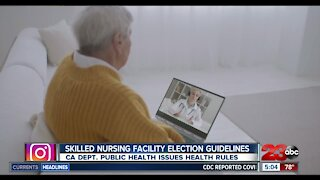 Public Health shares election guidelines for skilled nursing facilities