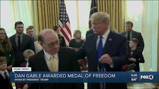 Trump awards Dan Gable Medal of Freedom