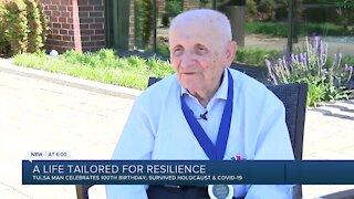 Holocaust survivor, Tulsa tailor celebrates 100th birthday