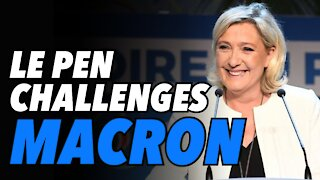 Le Pen continues to rise and challenge Macron in France