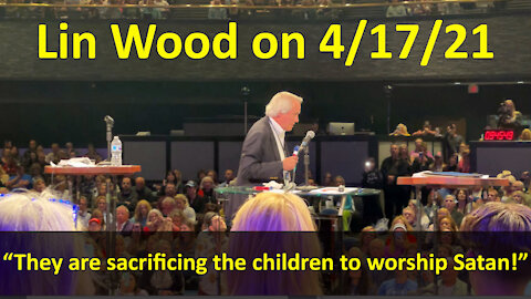 """LIN WOOD: """"Child Sex Trafficking IS The Pandemic!"""""""