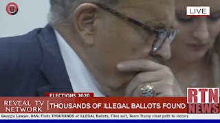MORE EVIDENCE/ THOUSANDS of ILLEGAL Ballots Found in Georgia | RTN News