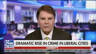 Dramatic Rise in Crime in Liberal Cities