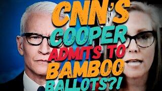 AZ Audit Update: Did CNN's Cooper Admit to Bamboo Ballots?!