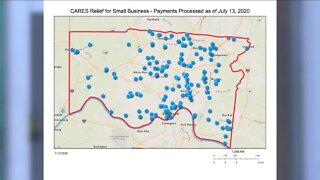 County relief grant helping to save 200 small, local businesses