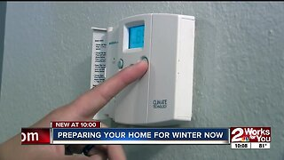 Preparing your home for winter now