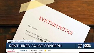 Rent hikes cause concern
