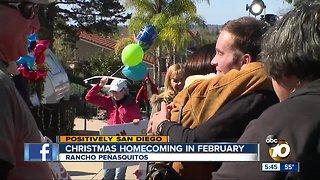 Christmas homecoming of Rancho Penasquitos man after coma