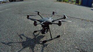 """Yuneec Typhoon """"H"""" w/CGO3 camera Test 1 - (Aerial)"""