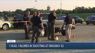 1 man fatally shot at race track in Wayne County, another hospitalized