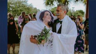 Birthday doubles as wedding day for Boynton Beach couple
