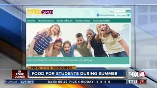 Summer food program available