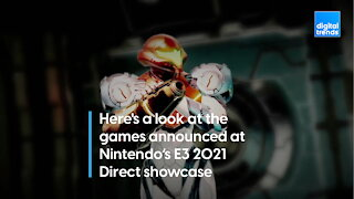 Every game announcement from Nintendo's E3 2021 Direct