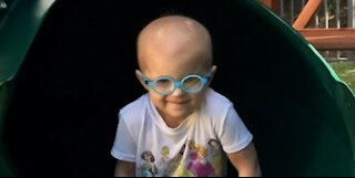Delray Beach girl battling cancer gets wish for playground granted